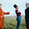 The Doctor, Bill and Nardole from Eaters of Light.
