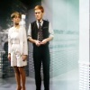 Tegan and Turlough standing side by side